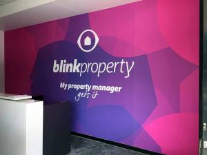 Blink Feature Wall