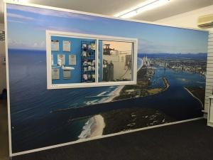 GC Seaway Feature Wall