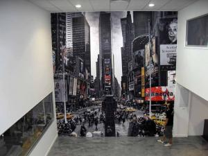 New York Feature Wall