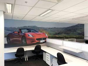 360 feature wall
